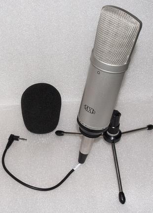 Marshall MXL D.R.K конденсаторный студийный микрофон ОТ БАТАРЕЙКИ