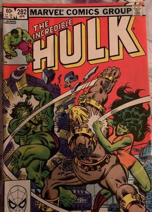 Винтажные комиксы Marvel и DC (см.фото)
