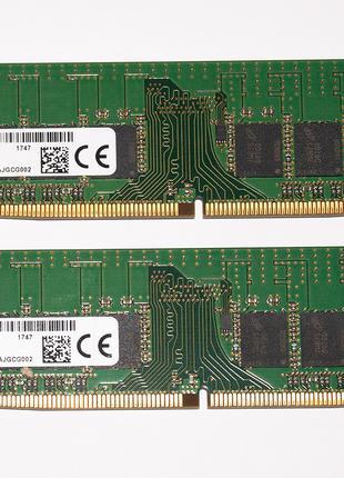 16Gb (2x 8Gb) Micron DDR4 2400 MHz PC4-19200 Оперативная память
