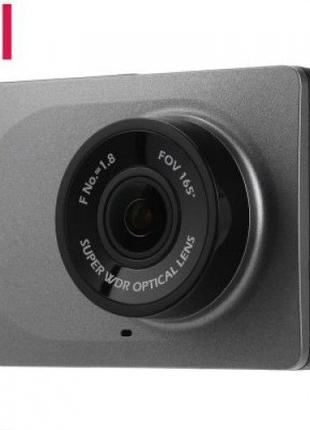 Видеорегистратор Xiaomi Yi Car DVR 1080P + Крепление-присоска.