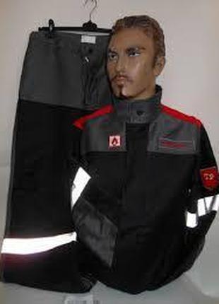 Защитный костюм  от высоких температур, летний.