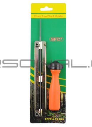 Напильник бензопильный Ø4,0mm (+планка ручка) SAFELY
