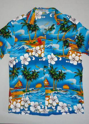 Рубашка гавайская keng thailand гавайка (m)