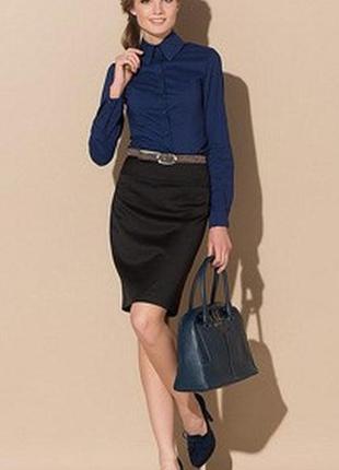 Классическая женская рубашка от zuiki италия р. s