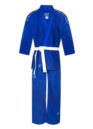 Продам синее кимоно для дзюдо, айкидо, джиу-джитсу, хортинга