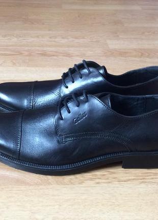 Новые кожаные туфли gallus германия 45 размера