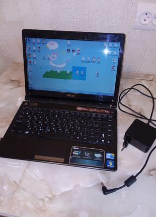 Ноутбук Asus UL30J Intel Core i5-520UM (1.06 ГГц) 4Gb 500Gb