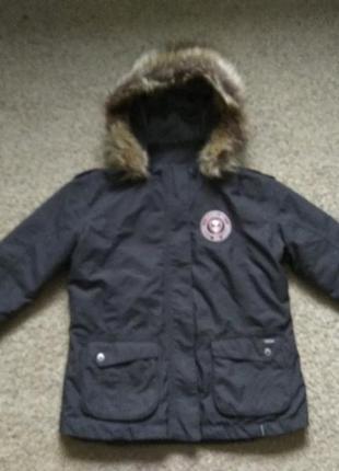 Куртка демисезонная разм 152 как новая