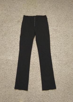 Черные брюки стрейч размер xs-s состояние новых