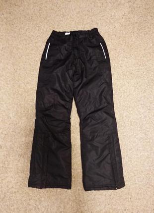 Лыжные зимние штаны брюки размер 146-152
