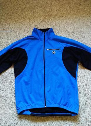 Куртка спортивная кофта теплая трекинговая crane р. l