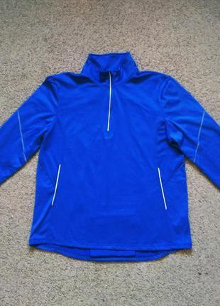 Утепленный мужской спортивный реглан кофта tcm размер l