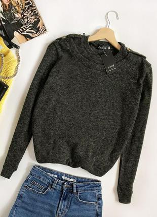 Обалденный базовый джемпер меланж (свитер)