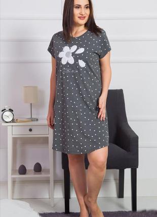 Ночная рубашка vienetta secret р. 2xl,  4xl батал
