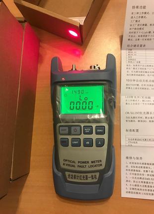 Power meter (Волоконно-оптический измеритель мощности)