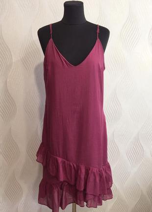 Стильное платье в бельевом стиле motivi