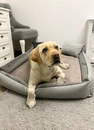Лежак лежанка 120*90 для большой собаки крупной породы,лабрадор,и