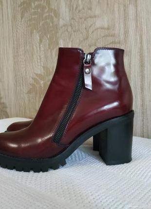 Италия agl лаковые ботинки, полуботинки, кожаные сапоги, полус...