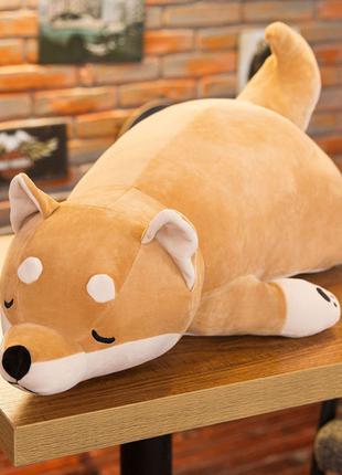 Мягкая игрушка, подушка собака Корги, отличный подарок.