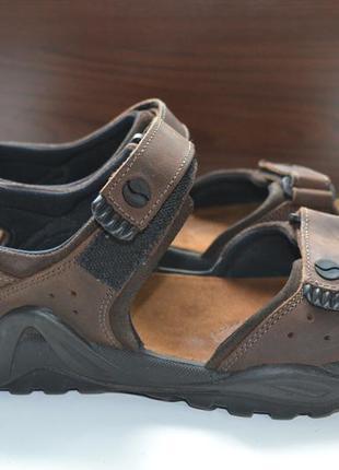 Gallus 44р сандалии кожаные, босоножки. оригинал