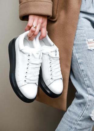 Шикарные женские кроссовки💐 топ качество alexander mcqueen 🎁