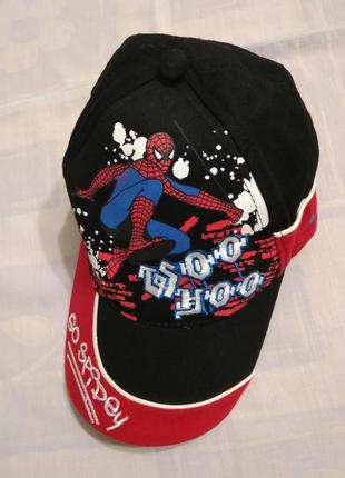 Кепка spider-man бейсболка