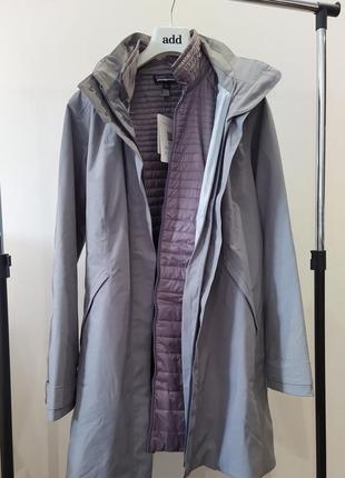 Новая парка patagonia 3 in 1 куртка пальто плащ ветровка дожде...