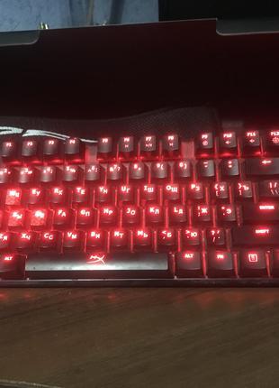 Продам клавиатуру Hyperx Alloy FPS (BLUE) (SteelSeries, Razer)