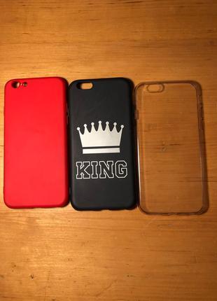 чохли для Iphone 6/6s  Ціна за один