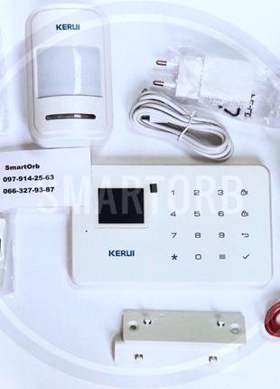 Домашняя Wi Fi GSM сигнализация Kerui W18 с датчиком движения ...
