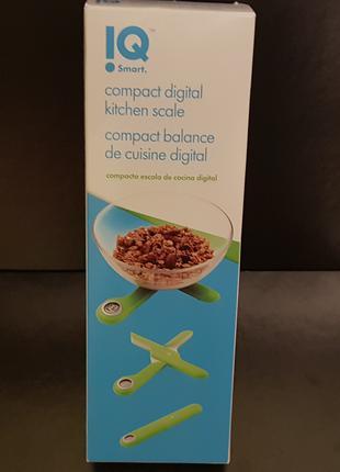 Компактные складные электронные кухонные весы KitchenIQ