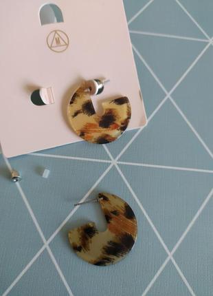 Сережки кільця, серьги гвоздики, кольца missguided с сайта asos