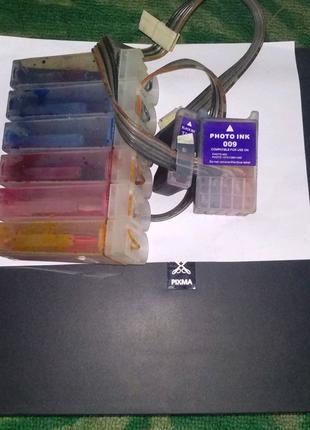 Принтер копир сканер Epson с системой бесперебойной подачи чернил