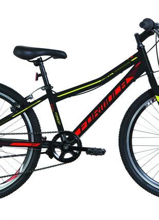Велосипед 24″ Formula FOREST 14G Vbr St 2019 (черно-красный с жел