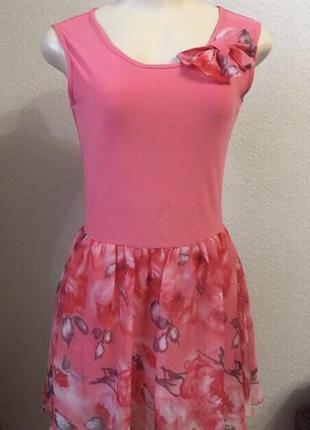 Шикарное женское летнее короткое платье
