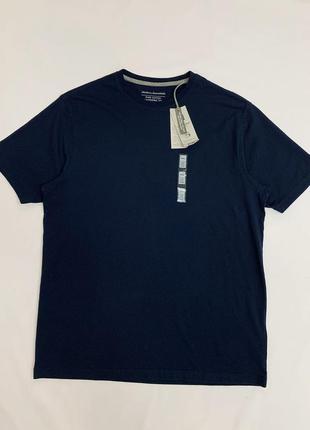 Мужская базовая синяя футболка