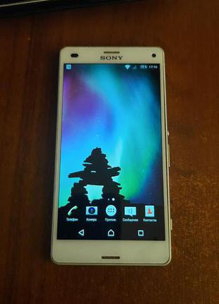 Телефон Sony xperia z3 compact d5803
