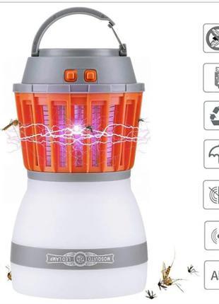 Знищувач комарів SUNROZ Killer Lamp M4 IP67 2в1 пастка для комах
