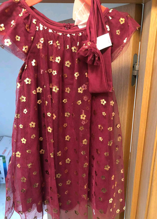 Сукня плаття з пов'язкою