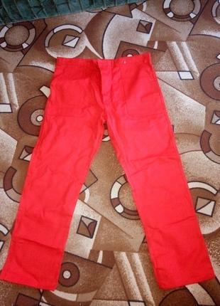 штаны новые спеццовочные джинсы