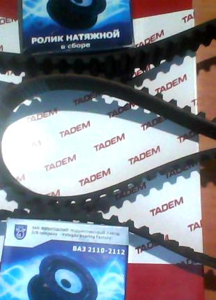 Ремень ГРМ БРТ(136зуб.)+ролики VBF к-кт 2шт. ваз 2110-2112 16кл.