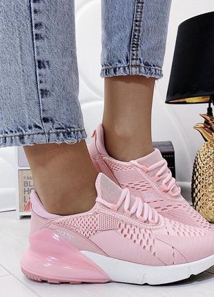 Новым женские розовые кроссовки