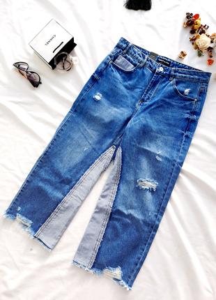 Джинсовые кюлоты новые / джинсы / брюки