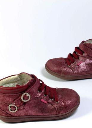 ботинки кожа на девочку