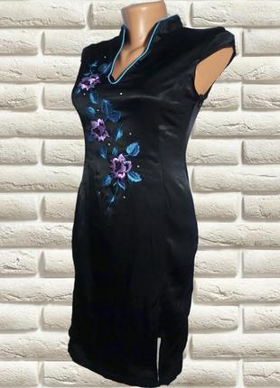 Платье в китайском стиле \ миди  от new look