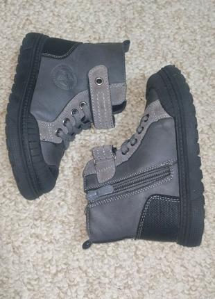 Демисезонные ботинки, 25 размер, 16 см по стельке