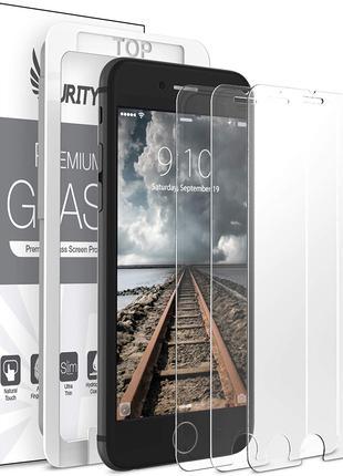 Захисне скло IPhone 8/7 Plus загартоване з інсталяційною рамкою