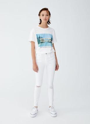 Белые джинсы kate&charlie р.8(29)