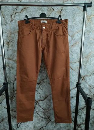 Мужские коттоновие брюки джинси zara
