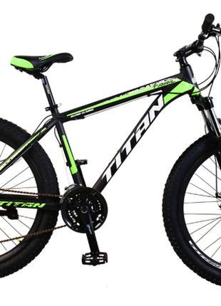 "Велосипед Titan Trail 29""*3""21""black-green-white (29TJ3IN18-70-3)"